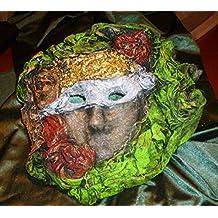 Mascara para decoración de escayola con telas endurecidas