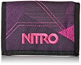 Nitro Wallet, Geldbörse, Geldbeutel, Portemonnaie, Münzbörse,  Fragments Purple,  10 x 14 x 1 cm, 1131-878000_1951, 60g