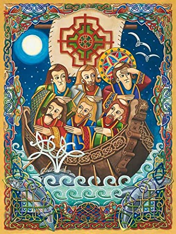 Purrfect 3571 - Purrfect Puzzles - Celtic Collection - St. Brendan The Navigator
