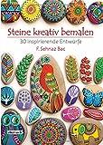 Steine kreativ bemalen: 30 inspirierende Entwürfe