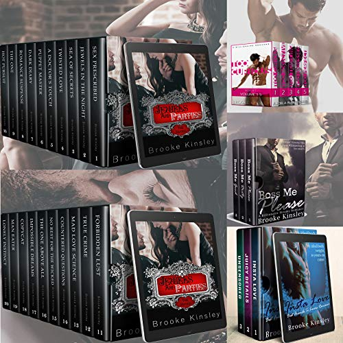 Billionaire Romance Box Set Compilation: 36 Steamy Romance Series Including: Jewels And Panties, Too Curious, Boss Me Please, Insta Love And Sugar Daddy's Girl Series (English Edition)