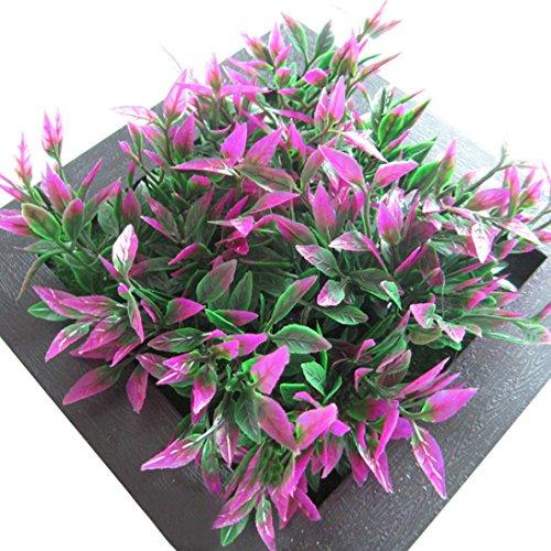 sunnymi 3D Wandsticker Wandtattoo Schöne Grüne Blumen Pflanzen , Wohnzimmer Schlafzimmer Entfernbare Wandtattoos Wandbilder Tapete (C, Schwarz)