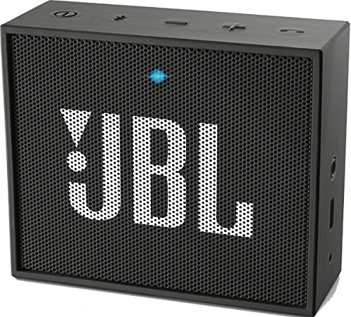Foto de JBL Go - Altavoz portátil para smartphones, tablets y dispositivos MP3(3 W, Bluetooth, recargable, AUX, 5 horas), color negro
