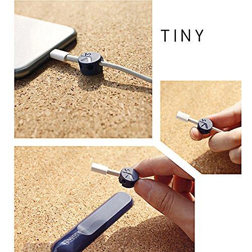 Kabelclips , Fozela Kabelclips und Kabelmanagement mit magnetischer Design, Magnet Wire Kabel Clip Smart Organizer (Blau)