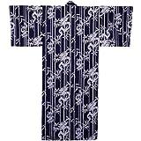Dragon men's yukata (dark blue) (L (60