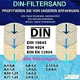 TOP1 25 KG MEINPOOL24.DE FILTERSAND FILTERKIES DIN-FILTERSAND 0,4-0,8 MM