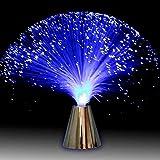 Mooie romantische glasvezellamp, vloeiende kleurverandering, led-vezellook, kalmerende lamp, nachtlampje, voor decoratie, taf