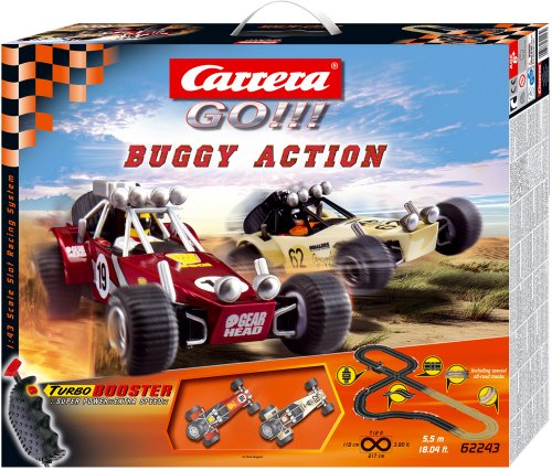Preisvergleich Produktbild Carrera 62243 GO! 1:43 Buggy Action 5.5m Starter Set