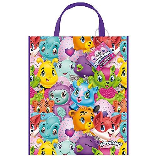 Unique Party 59322 Hatchimals - Plastic bag (33 x 28 cm)