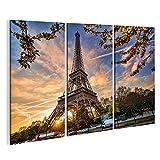 islandburner Tableau Tableaux sur Toile Tour Eiffel Paris Image, Images, Poster, Impression