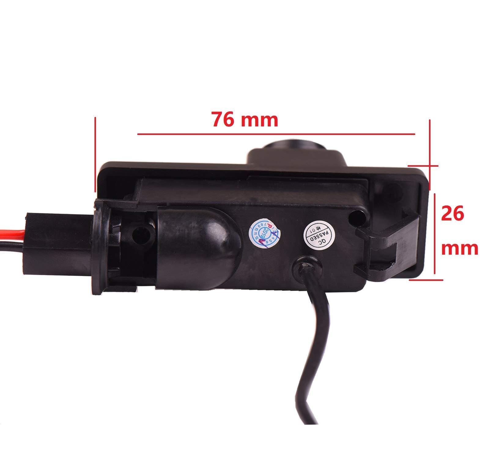 Nachtsicht-Wasserdicht-Farbkamera-170-HD-Rckfahrkamera-Kennzeichenleuchte-Einparkhilfe-Kamera-fr-Mercedes-Benz-Viano-2004-2012-Vito-2004-2012-Sprinter-2004-2012-W639