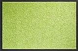 ID Mate 406014Mirande Alfombra Felpudo Fibra Nylon/PVC Recubrimiento Verde Vif 60x 40x 0,9cm