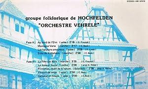 musique d'alsace - hochfelden en fête (33 tours)