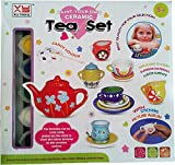 #7: Creativity For Kids Art Craft Kit - Cute Mini Paint Your Tea Set (HCCD ENTERPRISE)
