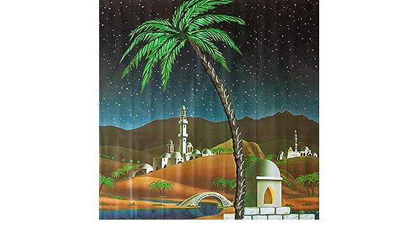 1 x 7 cm Multicolore Moranduzzo Fondale per Presepe Arabo in Rotolo