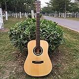 GFEI _ épinette du conseil face à la guitare folk 105cm unique une guitare en bois.