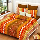 SurprizeMe Cotton Abstract Double Bedshe...