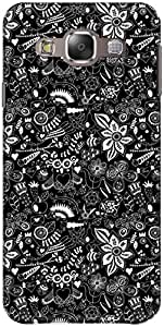 The Racoon Grip printed designer hard back mobile phone case cover for Samsung Galaxy E5. (Into the W)