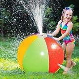 Opblaasbare Waternevel Strandbal, Vervaagt niet Duurzaam Sproeier Waterspeelgoed voor Kinderen Openluchtgazon Hete Zomer voor Strand/Zwembadgebruik Openluchtwaterspeelsproeiers