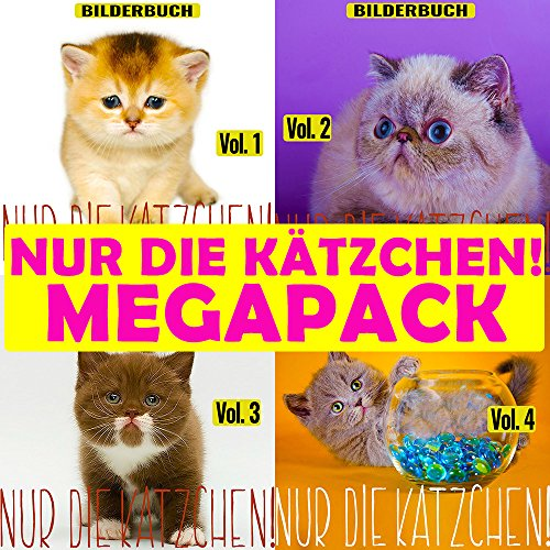 Nur die Kätzchen! (MEGAPACK vol.1-4) - Lustige Kätzchen