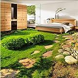 Malilove Große Benutzerdefinierte Bodenbeläge Grüne Frische Pflanzen Kleine Gras Schlafzimmer Wohnzimmer Wohnzimmer 3D Stereo Bodenfliesen Stock Wallpaper-3D400X280CM