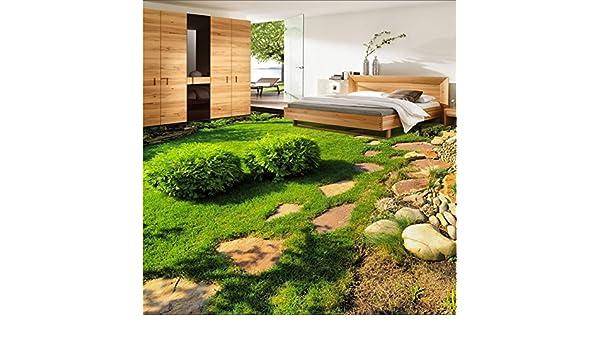 Fußboden Graß Essen ~ Malilove große benutzerdefinierte bodenbeläge grüne frische pflanzen
