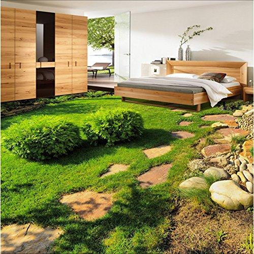 Malilove Große Benutzerdefinierte Bodenbeläge Grüne Frische Pflanzen Kleine Gras Schlafzimmer Wohnzimmer Wohnzimmer 3D Stereo Bodenfliesen Stock Wallpaper-3D200X140CM