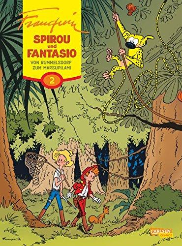 Von Rummelsdorf zum Marsupilami (Spirou & Fantasio Gesamtausgabe, Band 2)