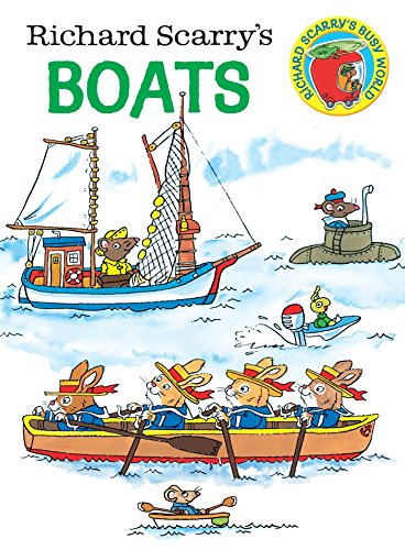 Boats (Richard Scarry's Busy World) por Scarry Richard