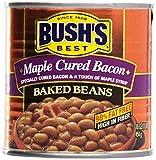 Bush stufato di fagioli allo sciroppo d'acero e bacon 454gr