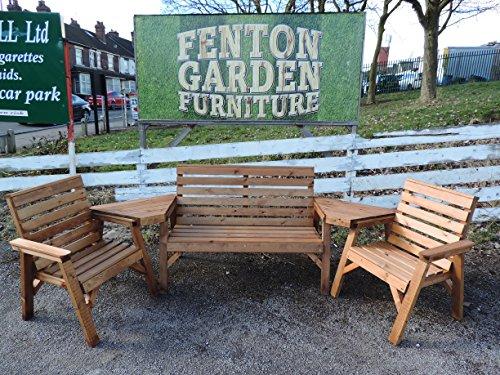 Haut dossier pour banc de jardin en bois et chaises Ensemble de Super robuste. * *