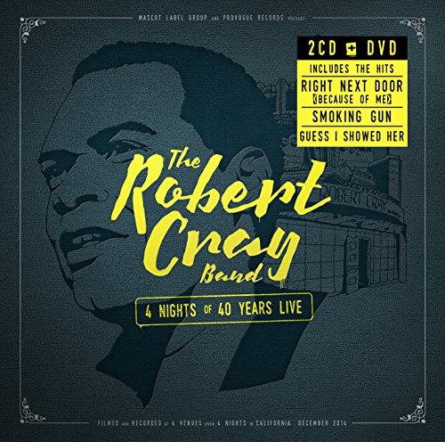 4 Nights of 40 Years Live (2CD+DVD) - In Soul Cray Robert My