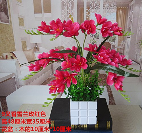 LIXIAOXIN Butterfly Orchid Simulation Set False Dekoration Rose Rot
