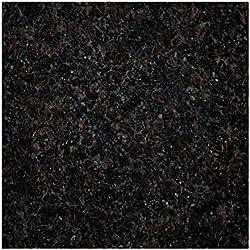 Große Arbeitsplatte Küchenplatte, Servierplatte oder Tischplatte aus poliertem Granit, Unikat Handarbeit 62 x 62 x 1,8 cm, 14KG