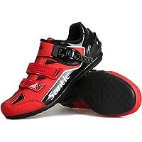 Santic Scarpe Bici da Corsa Scarpe Ciclismo MTB Scarpe Bicicletta con Suola Piatta per Bici da Strada e MTB per Uomo e…