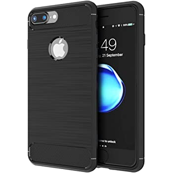 iPhone 6 / 6s Case, OWM Ultra Light Slim Shockproof Silicone TPU Brushed Grip Protective Case Cover Skin for Apple iPhone 6 / iPhone 6s Case and Screen Protector (Black)
