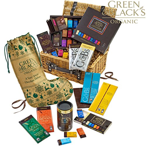 Green & Black's Organic Christmas Chocolate Basket