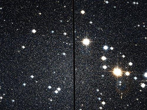 Spiffing Prints Hubble Telescope - Cassiopeia Dwarf - Extra Large - Matte Print