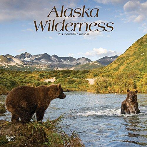 Alaska Wilderness - Wildnis in Alaska 2019 18-Monatskalender: Original BrownTrout-Kalender - mit freier TravelDays-App por Inc. Browntrout Publishers