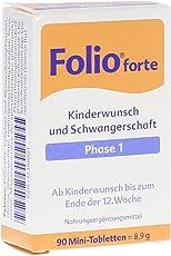 SteriPharm Pharmazeutische Produkte Folio 1 forte filmtabletten, 90 Stück