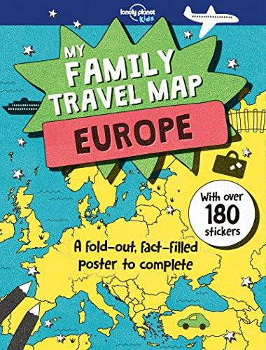 My Family Travel Map - Europe (Lonely Planet Kids) - Le Grande Holiday Sticker