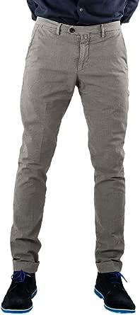 B-SETTECENTO Pantalone-Chino-Uomo Cotone-Elasticizzato MainApps