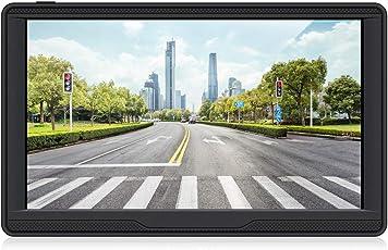 7 Zoll 8GB Touchscreen Auto Navi GPS Navigation für Auto Enthält die Europäischen Karten und Kostenlose Lifetime Updates.
