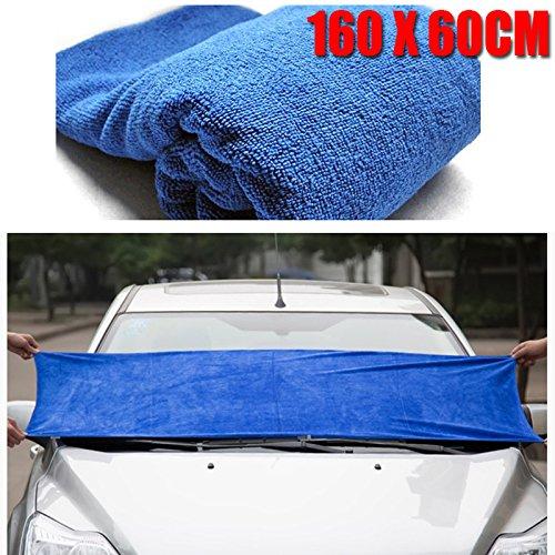160--60cm-Reinigungstcher-Microfasertuch-Blau-fr-Auto