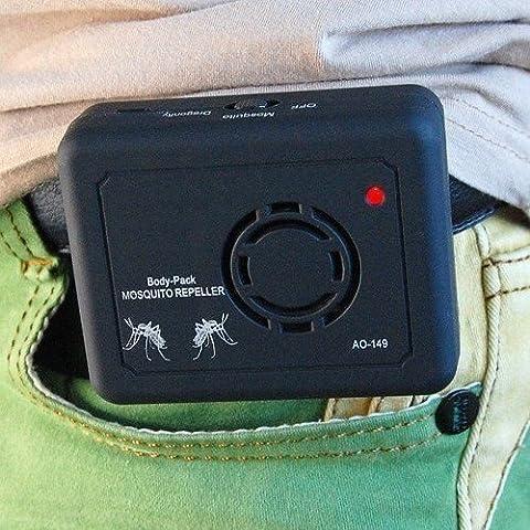 Ultrasonico elettronico anti mosquito Insect Pest Repeller repellente ricaricabile power-3anni Free garanzia.