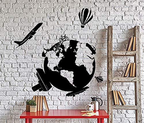 stickers muraux nuage étoile Autocollants muraux décoratifs amovibles Grand beau motif de feuille et de saveur de pomme juteuse aux gros seins
