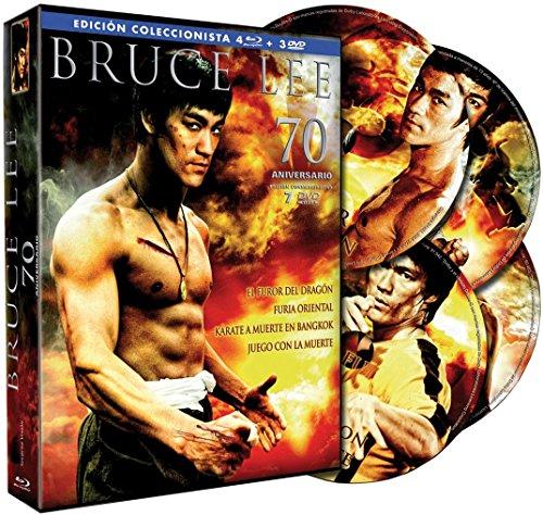 Pack Bruce Lee - Edición 70º Aniversario (4 BD + 3 DVD Extra) [Blu-ray]