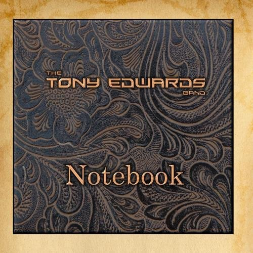 Notebook by The Tony Edwards Band Bd-laptop