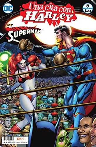 Portada del libro Una cita con Harley O.C.: Una cita con Harley núm. 05 (de 6): Superman