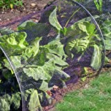 Kingfisher Net Tunnel - Garden Netting Cloche - Grow Tunnel Plant Cover